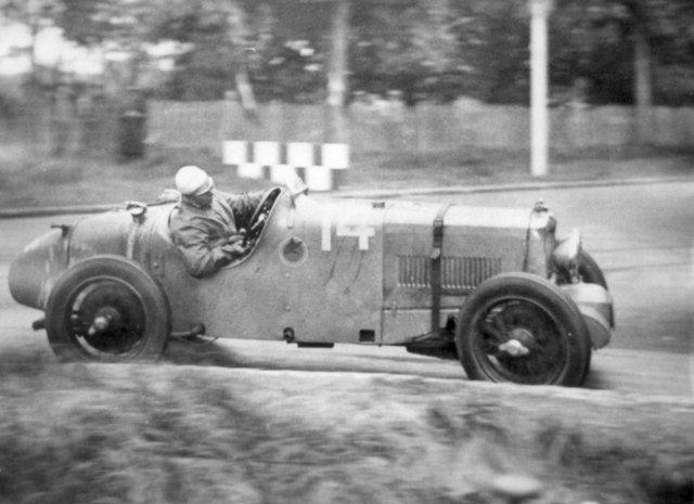 la MG K3 conduite par Philippe Maillard-Brune